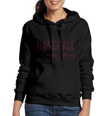 Handball is My Drug Custom Pullover Hoodie at Amazon Women s ... a41a1950c