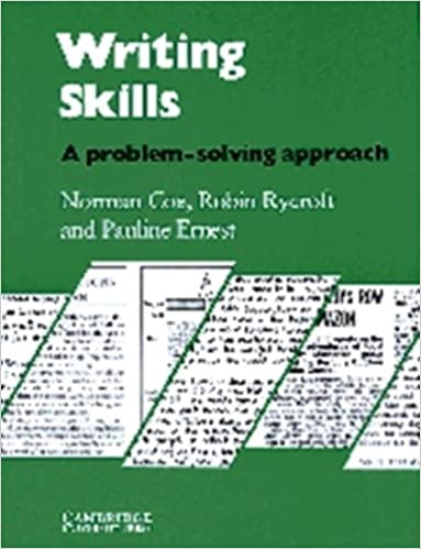 Amazon.com: Writing Skills Student's book: A Problem-Solving ...