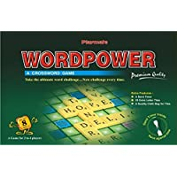 Playmate Word Power Premium - A Crossword Game with Sand Timer. Age 8 Years + / 2-4 Players