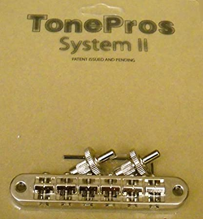 Tonepros® System II Nashville Style Notched Bridge - Nickel Finish