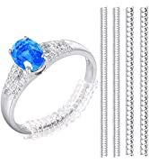 Ring Size Adjuster Jewelry Tightener Resizer Loose Rings Invisible Transparent for Loose Rings Cl...