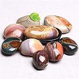 Gold Happy Natural Stones Ball Ocean Jasper Round Mineral Ore Specimen Agate Crystal Quartz Home Desk Decorations