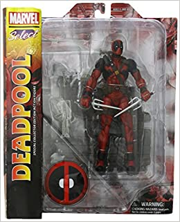 "SELLER Diamond Select Toys Marvel Select Deadpool 7/"" Action Figure U.S.A"
