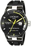 Locman Italy Men's 0511BKBKFYL0GOK Montecristo Classic Automatic Analog Display Automatic Self Wind Black Watch