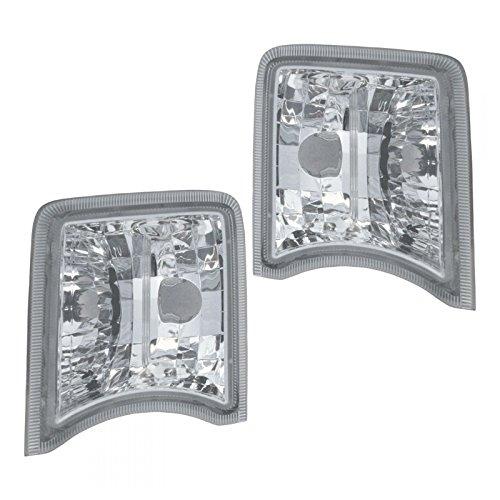Parking Turn Signal Directional Light Lamp Pair Set Kit for 10-11 Toyota (Parking Signal Lamps Set)