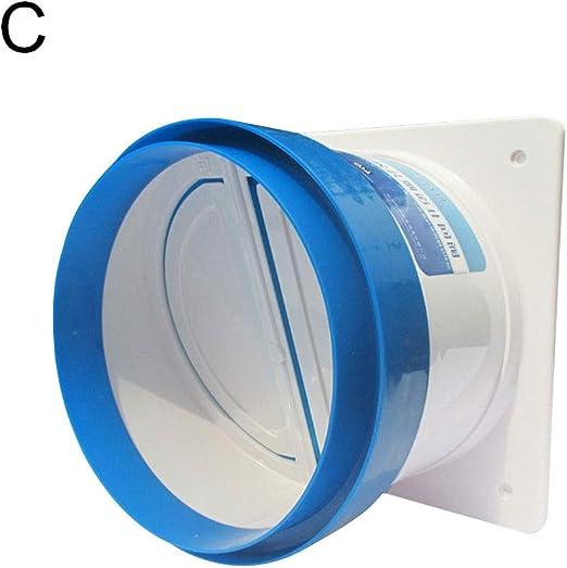 KeKeandYaoYao - Desodorante de válvula de control de humo, válvula de control de combustible, válvula de PVC, plástico abs, C: Amazon.es: Hogar