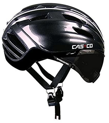 Casco Speedster Plus Adults Cycling Helmet Silver Gunmetall Size:M by casco