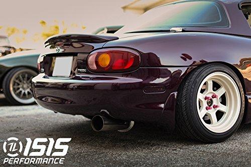 Amazon.com: ISR Performance Circuit Spec Exhaust for Mazda Miata NB 1999-2005 …: Automotive