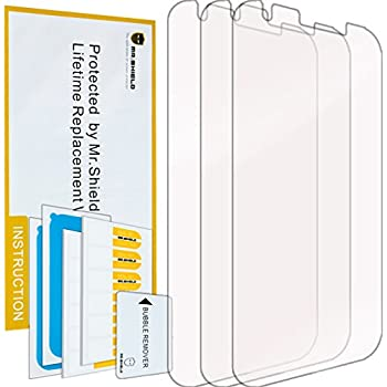 Mr Shield For ZTE Grand X3 / ZTE Grand X 3 Premium Clear Screen Protector [3-PACK] with Lifetime Replacement Warranty