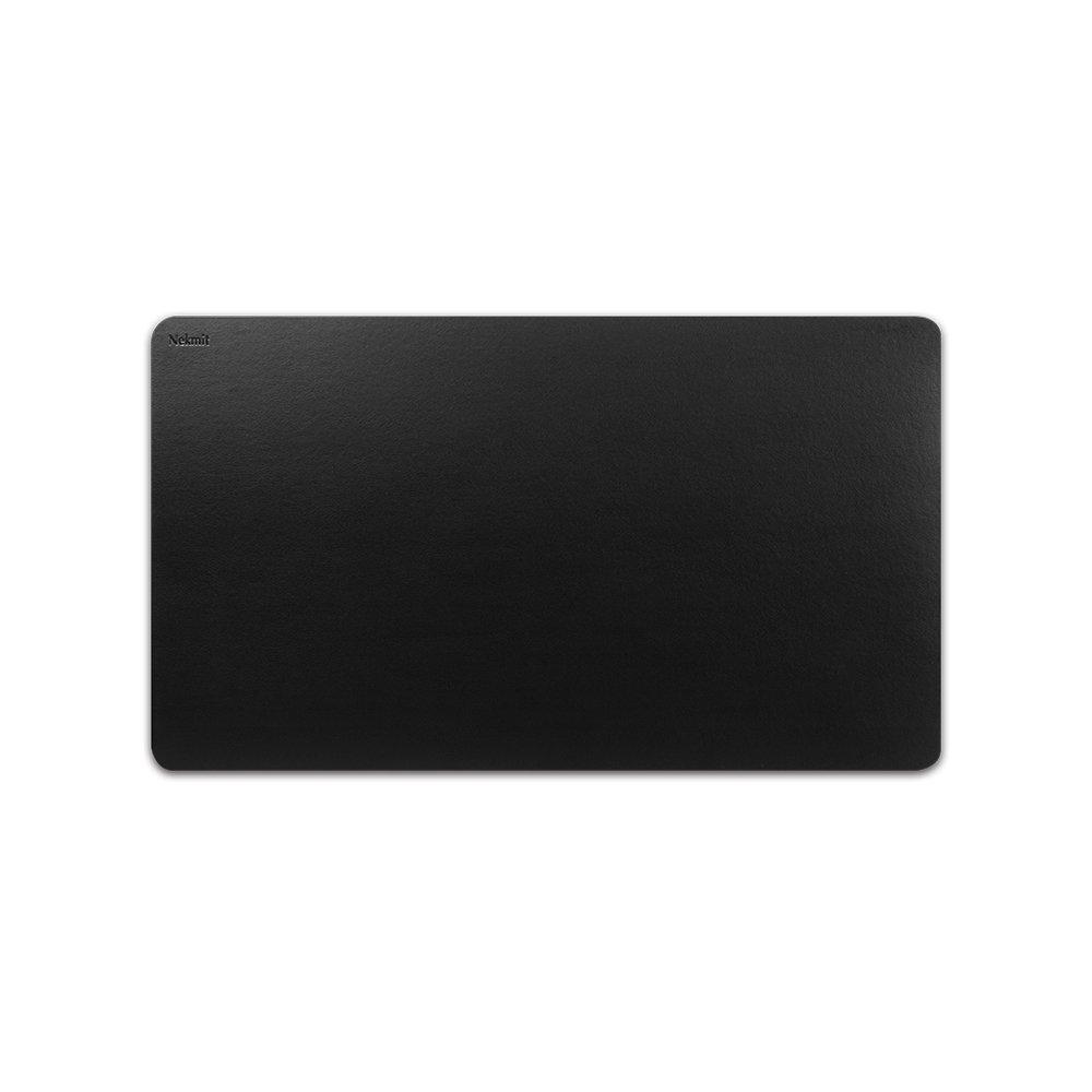 Nekmit Leather Desk Blotter Pad 24x14, Black Nekmit Compact