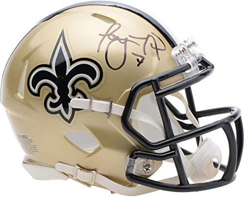 Taysom Hill New Orleans Saints Autographed Riddell Speed Mini Helmet - Fanatics Authentic Certified - Autographed NFL Mini Helmets