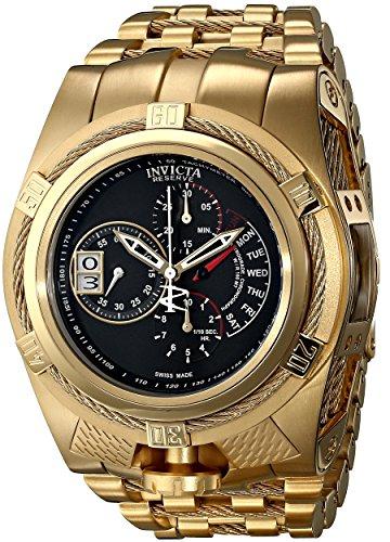 Invicta Men's 16956 Bolt Analog Display Swiss Quartz Gold - Watch Swiss Pl