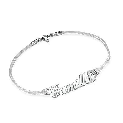 Silber Infinity Armband mit Namen- Personalisiert mit Ihrem eigenen  Wunschnamen! aff8a1bf75