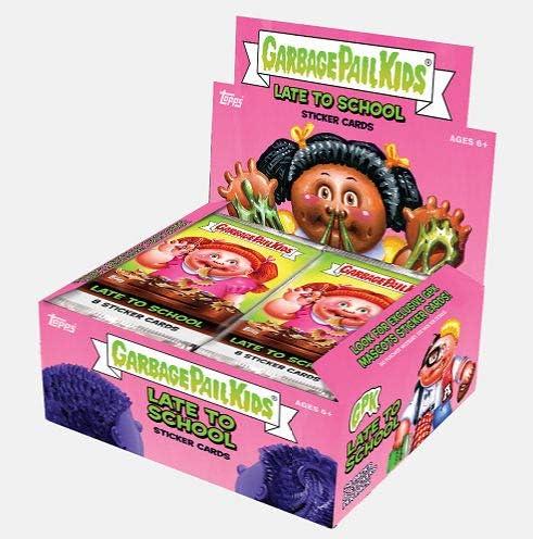 2020 Topps Garbage Pail Kids Series 1 Late to School Sticker box 24 pks//bx