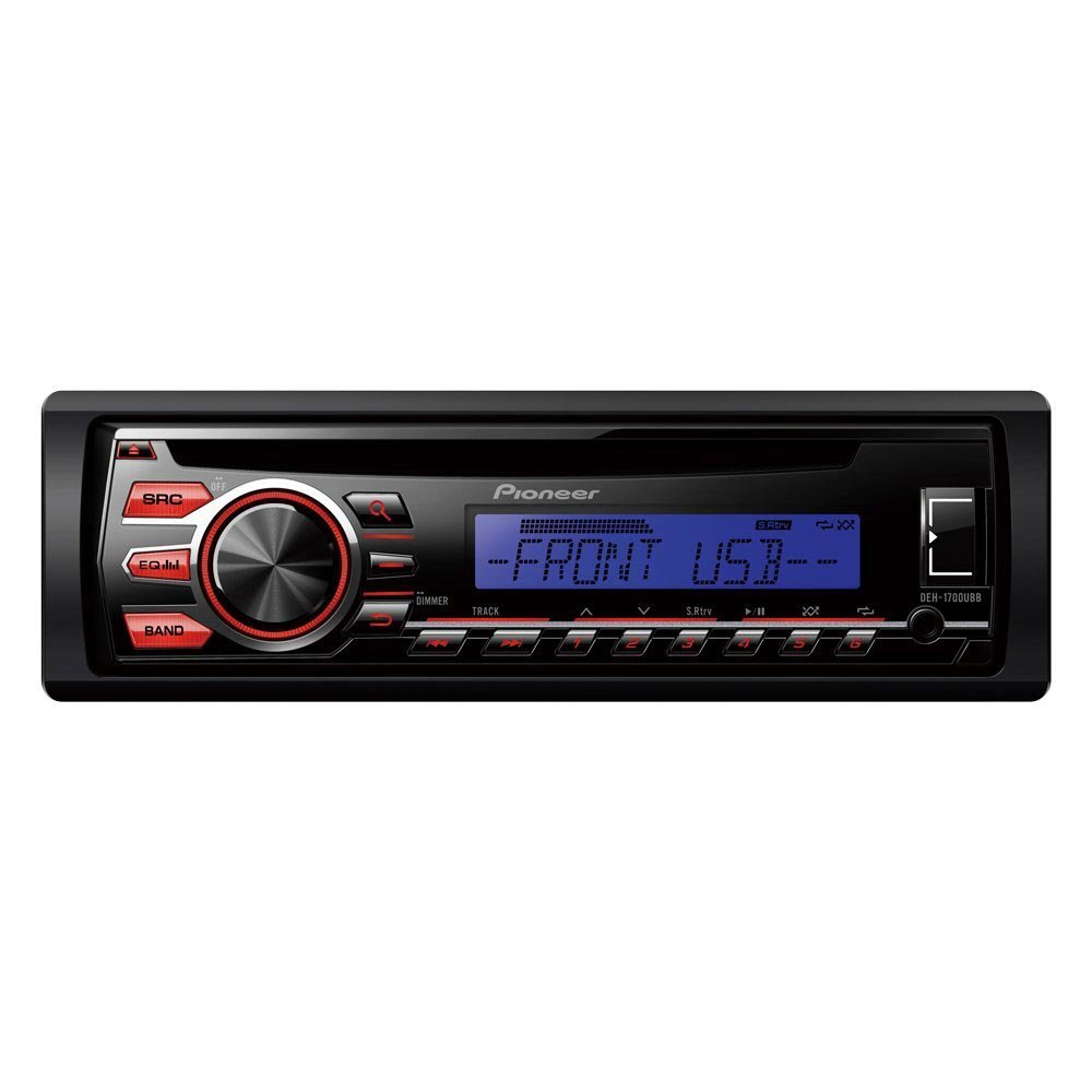 Pioneer Deh 1700ubb Car Stereo With Rds Tuner Electronics 1000 Wiring Diagram