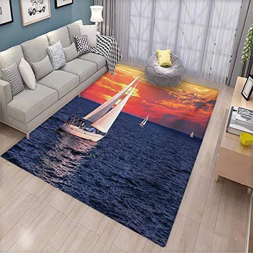 sailboat door mats area rug