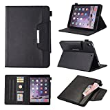 Chgdss iPad 9.7 inch 2018/2017 Case, iPad Air/Air 2 Case,IPad pro(9.7) Case, Smart Cover Flip Leather Case with Stand Feature, for iPad 9.7 Inch 2017/2018,iPad Air/Air 2, IPad pro(9.7),black