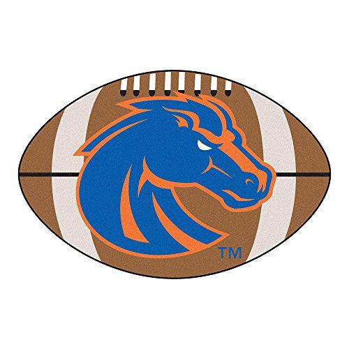 (NCAA Boise State University Broncos Football Shaped Mat Area)