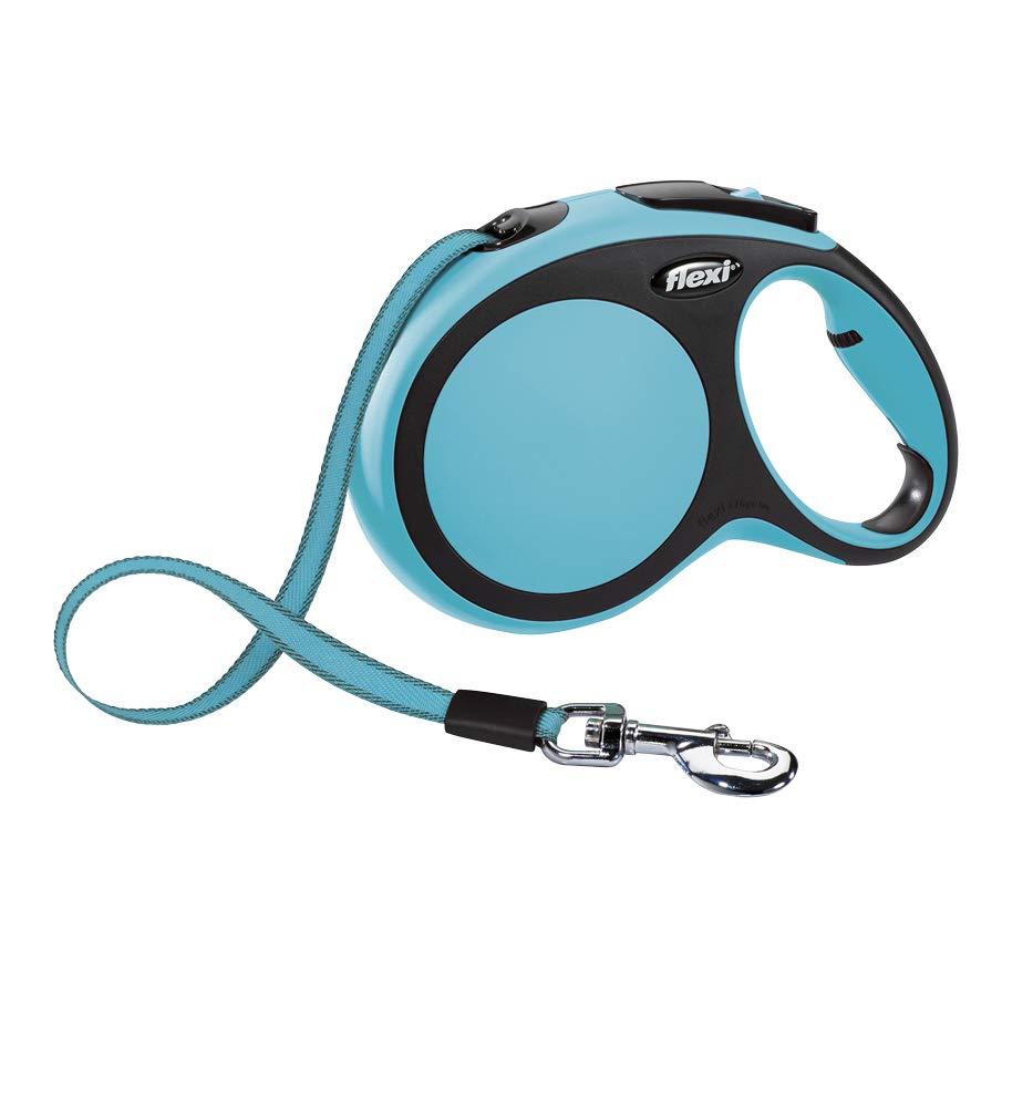 0054f134 Flexi New Comfort Retractable Tape Lead, Large, 8 m, Blue: Amazon.co.uk: Pet  Supplies