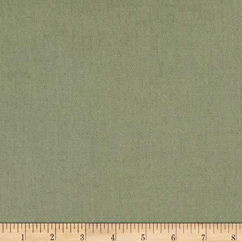 Telio Viscose Mix Twill Sage Fabric Fabric by the Yard
