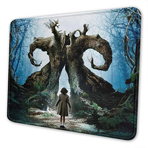 Pans Laby-rinth Mouse Pad Rectangle Non-Slip Rubber Gaming/Working Geek Mousepad Comfortable Desk Mousepad Standard Mouse Pad Gift Multiple Sizes Available