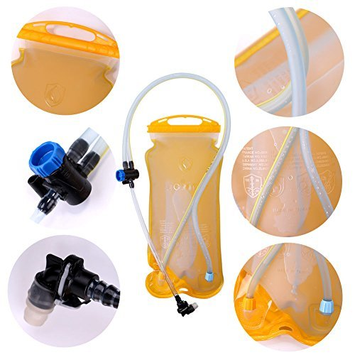 ACRATO Sport Water Bottle, 500ml BPA-free Leakproof Water Drinks Bottles Opening with Rotating Lid Easy-carrying Handle Design for Adults and Children