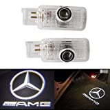 ZNYSTAR 2pcs Car Door LED Courtesy Logo Light Projector Ghost Shadow Lights for Mercedes-Benz R