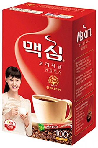 Maxim Original Coffee 100sticks Dongsuh