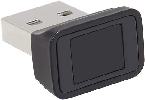 Lettore di Impronte digitali USB per Windows 10 8 7 Argento Biometria HUB per Impronte digitali Accedi per PC e Laptop