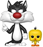 Funko Pop! Animation: Looney Tunes - Sylvester & Tweety Collectible Toy