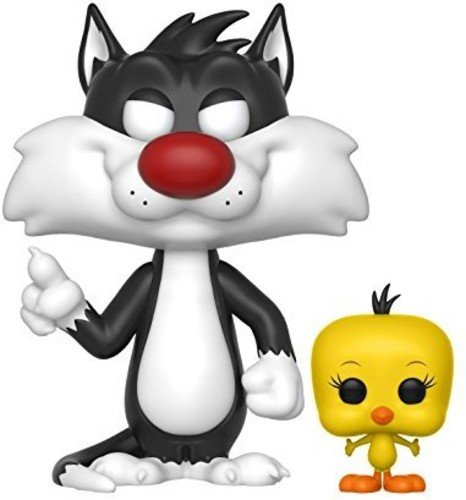 Funko Pop Animation: Looney Tunes-Sylvester and Tweety Collectible (Adult Sylvester Costumes)