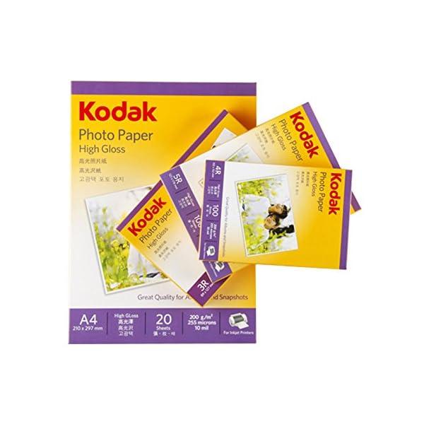KODAK 200GSM A4 INKJET PAPER 20 SHEETS