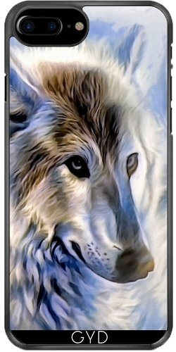 Coque pour Iphone 7 Plus / 8 Plus (5,5'') - Icewolf Loup Imaginaire by WonderfulDreamPicture