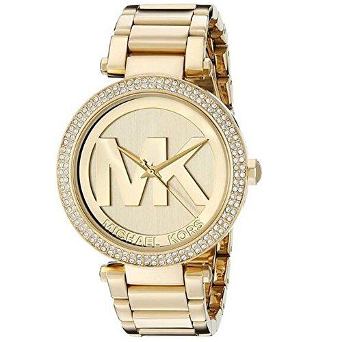 Michael Kor Women's MK5784 Parker Gold-Tone Stainless Steel Watch
