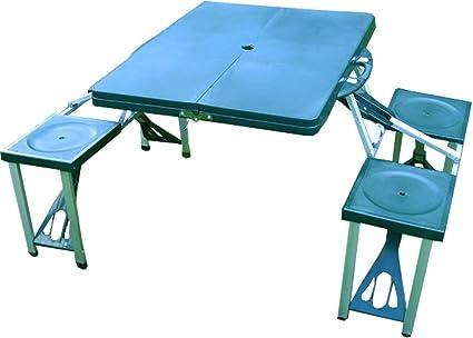 Niños camping asiento Grupo en maletín camping mesa sillas ...