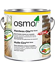 Osmo Hardwax-Olie Original 3065, Kleurloos semi-mat 2,5 liter. Creëert een permanente wet-look voor uw houten vloer of als toplaag.