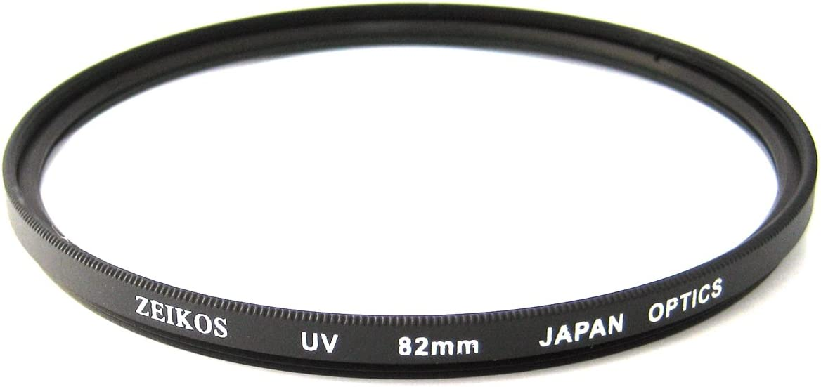 Zeikos 82mm UV Protection Multi-Coated Glass Filter For Sigma 10-20mm f/3.5 EX DC HSM, Sigma 12-24mm f/4.5-5.6 & Sigma 24-70mm f/2.8 Lens