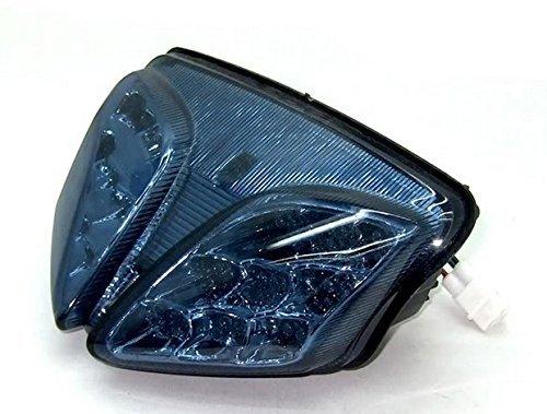 MZS LED Tail Light for Suzuki GSXR600/GSXR750 2008-2010,GSXR1000 2009-2011 Smoke (Rear Tail Gsxr600)