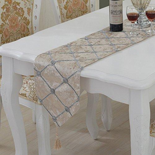 Estilo rústico camino de mesa rectangular natural sencillo y ...