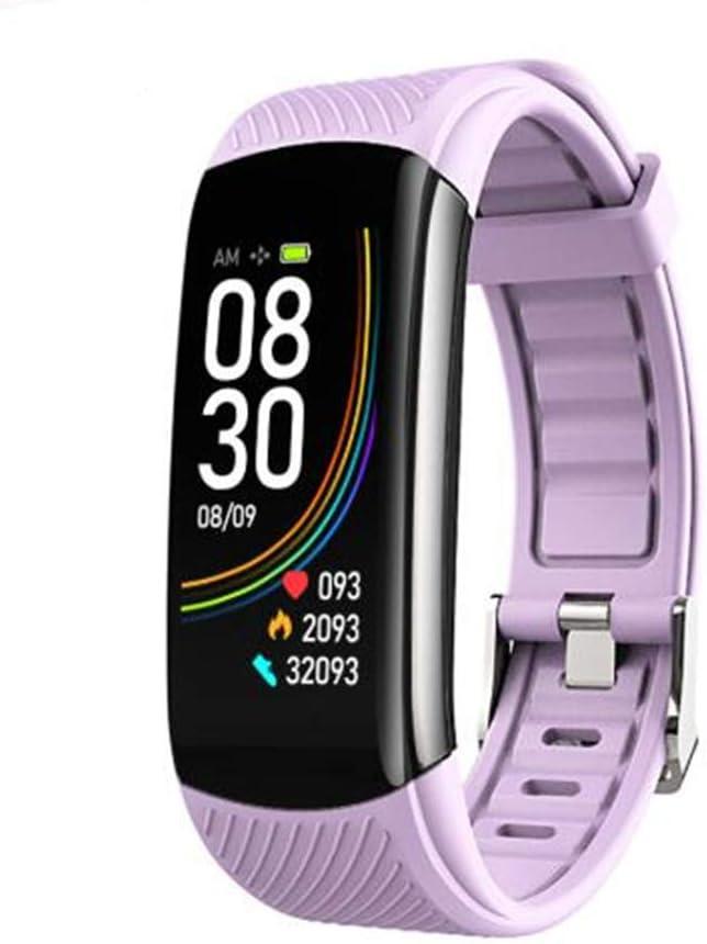 ONEYMM Reloj Inteligente con Temperatura Corporal Presión Arterial Monitor de Sueño Monitor de Ritmo Cardíaco Smartwatch con Mensaje de Llamada para Mujeres Hombres y Niños