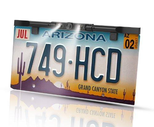 BOYO VTL425HDL Multi-View License Plate Camera (Black)