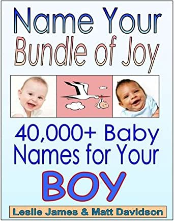 Amazon.com: Name Your Bundle of Joy: 40,000+ Names For ...