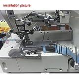 Kunpeng # KP-104 CoverStitch Machine Binder, Double-Fold Binding Attahchment Flatbed Machine (1-3/4 (44.45mm) Cut;9/16 (14.29mm) Finish)
