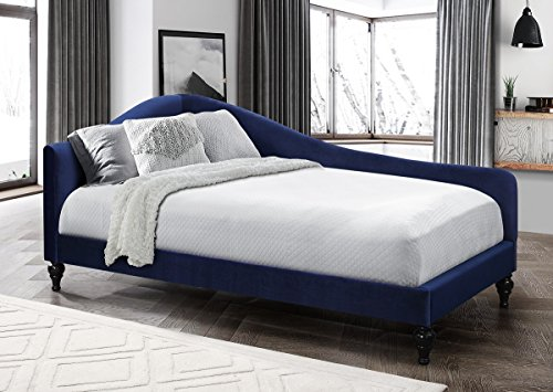Home Design Enzo Upholstered Daybed (Blue)