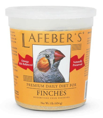 Lafebers Pet Bird (Lafeber Company Finch Granules Premium Daily Diet Pet Food, 1-Pound)