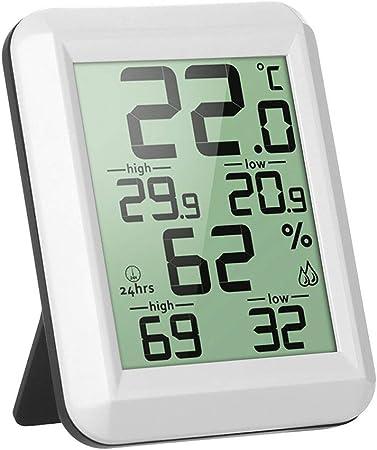 Termometro Casa Interior Pantalla Grande Medidor Temperatura Y Humedad Para Medir Ambiente Del Hogar Amazon Es Hogar Dependiendo de las funciones que busque, ofrecemos equipos para realizar mediciones por contacto. humedad para medir ambiente del hogar