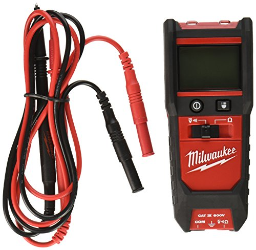 Milwaukee 2213-20 Auto Voltage/Continuity Tester with Resistance by Milwaukee