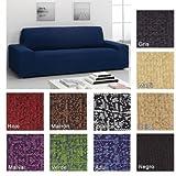 Funda Bielástica Nature para Sofá KIVIK de IKEA, Color Blanco, 3 plazas