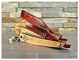 Beard and Mustache Folding Comb set, Razor Style