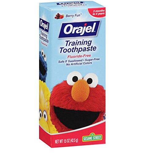 Orajel Toddler Training Toothpaste Berry Fun 1.50 oz